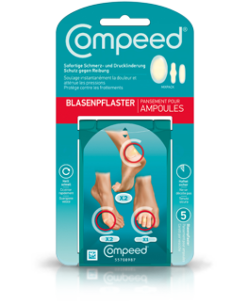 COMPEED Blasenpflaster Mix 5 Stk